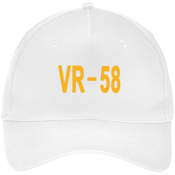 VR 58 3 Five Panel Twill Cap