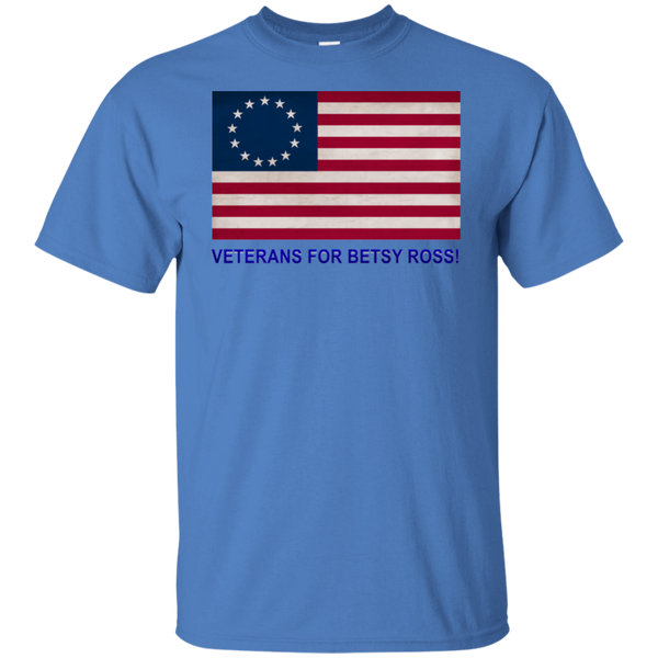 Betsy Ross Vets 1 Custom Ultra Cotton T-Shirt