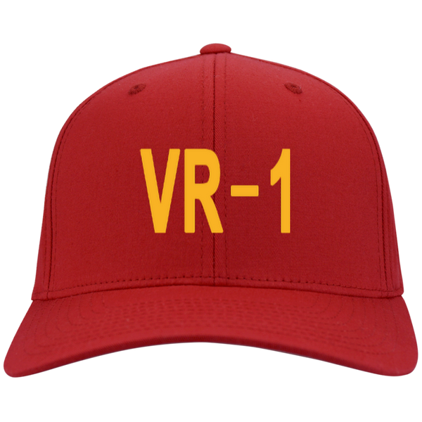 VR 01 3 Flex Fit Twill Baseball Cap