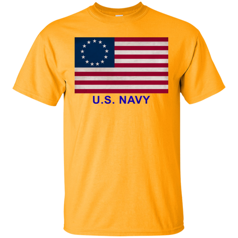 Betsy Ross USN 1 Custom Ultra Cotton T-Shirt