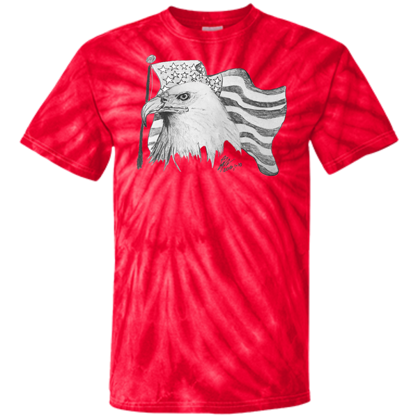 Eagle 101 Customized 100% Cotton Tie Dye T-Shirt