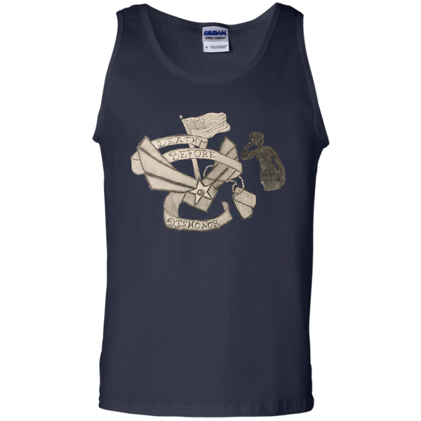 Death Before Dishonor Cotton Tank Top