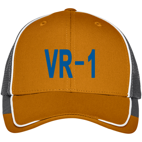 VR 01 3 Colorblock Mesh Back Cap