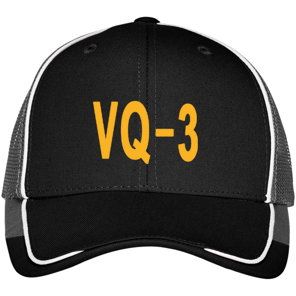 VQ 03 3 Colorblock Mesh Back Cap