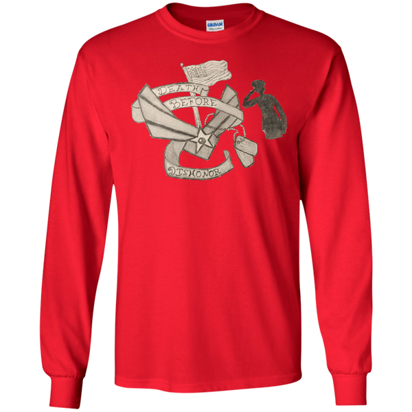 Death Before Dishonor LS Ultra Cotton Tshirt
