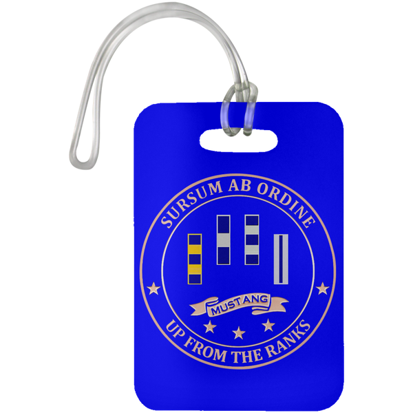Up From The Ranks 2 Luggage Bag Tag
