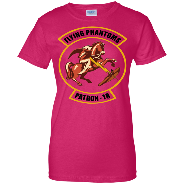 VP 18 2 Ladies Custom Cotton T-Shirt