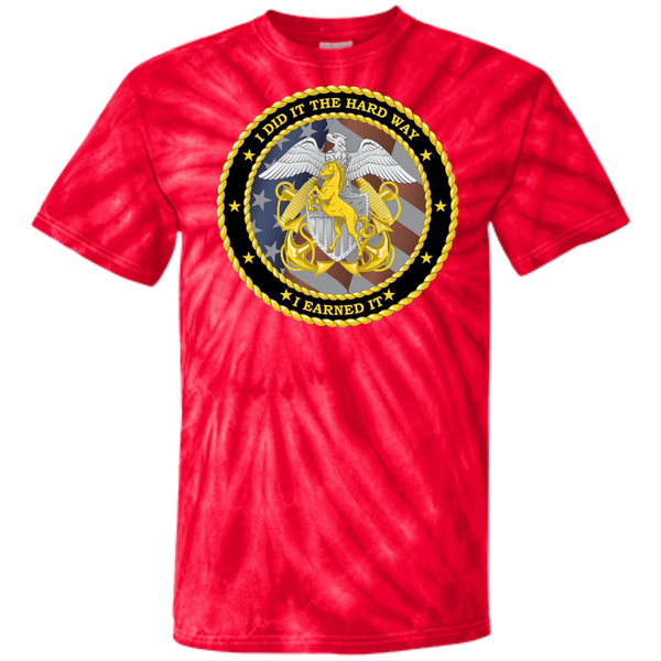 Earned It Customized 100% Cotton Tie Dye T-Shirt
