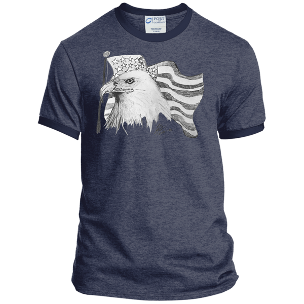 Eagle 101 Personalized Ringer Tee