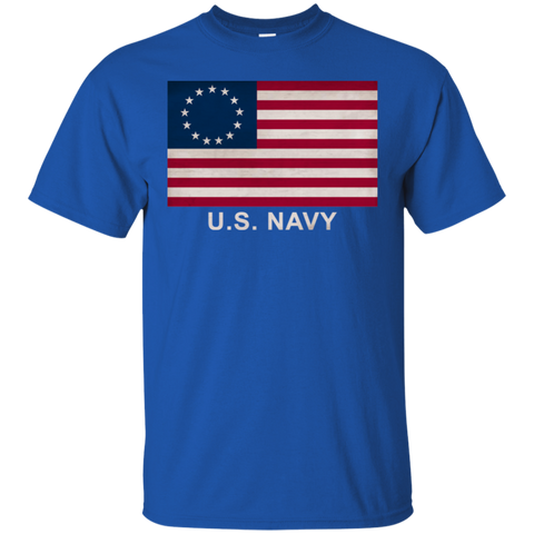 Betsy Ross USN 2 Custom Ultra Cotton T-Shirt