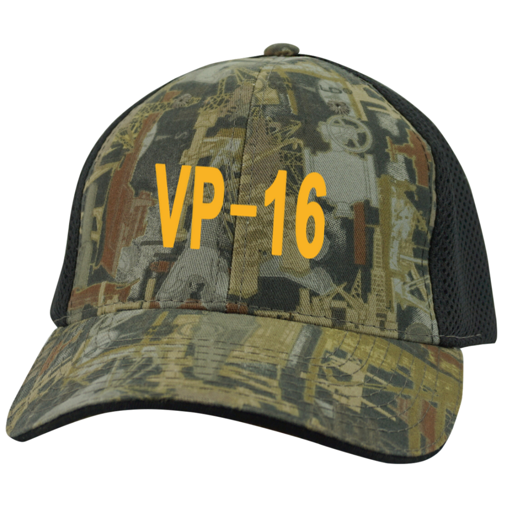 VP 16 3 Camo Cap with Mesh