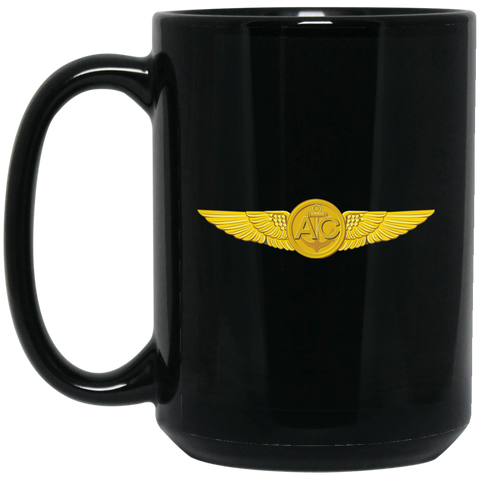 Aircrew 1 Black Mug - 15oz