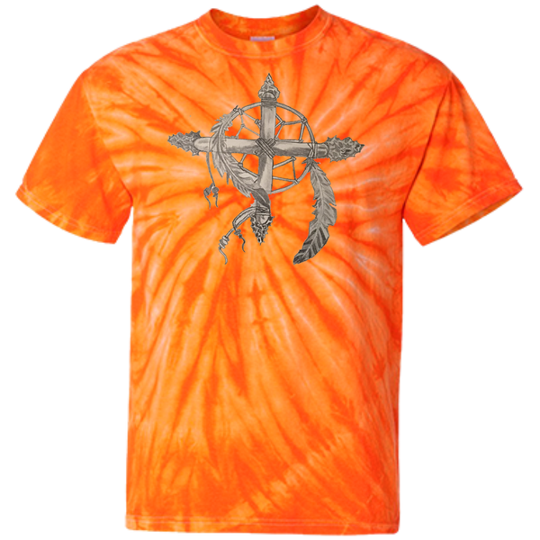 Heritage Customized 100% Cotton Tie Dye T-Shirt