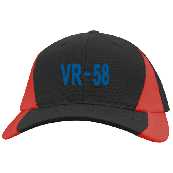 VR 58 3 Mid-Profile Colorblock Hat
