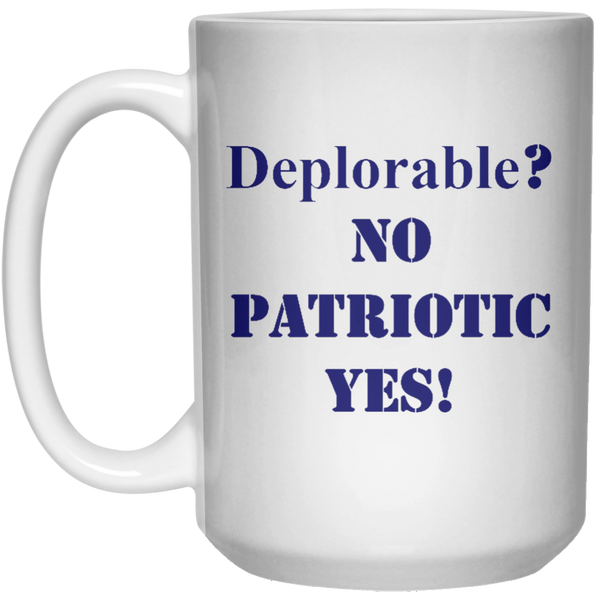 Deplorable Mug - 15oz
