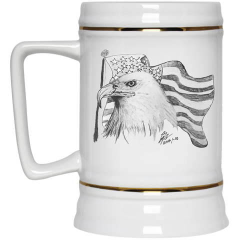 Eagle 101 Beer Stein - 22 oz