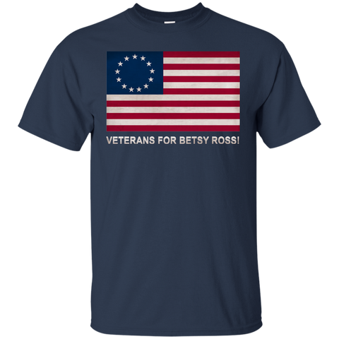 Betsy Ross Vets 2 Custom Ultra Cotton T-Shirt