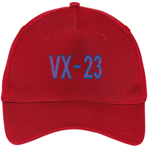 VX 23 3 Five Panel Twill Cap