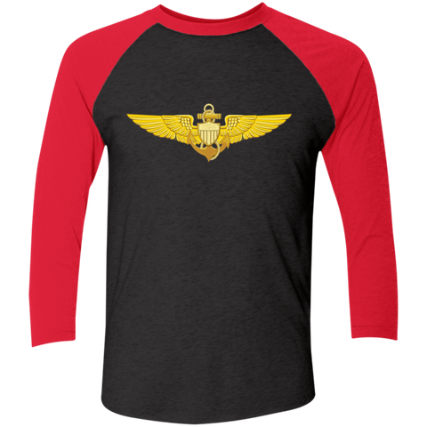 Aviator 1 Baseball Raglan T-Shirt