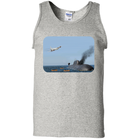 Abandon Ship Cotton Tank Top