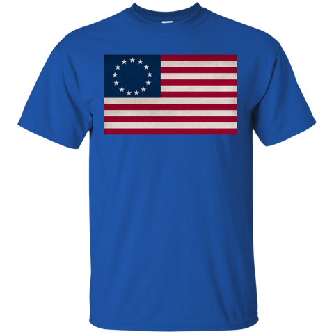 Betsy Ross Flag Custom Ultra Cotton T-Shirt