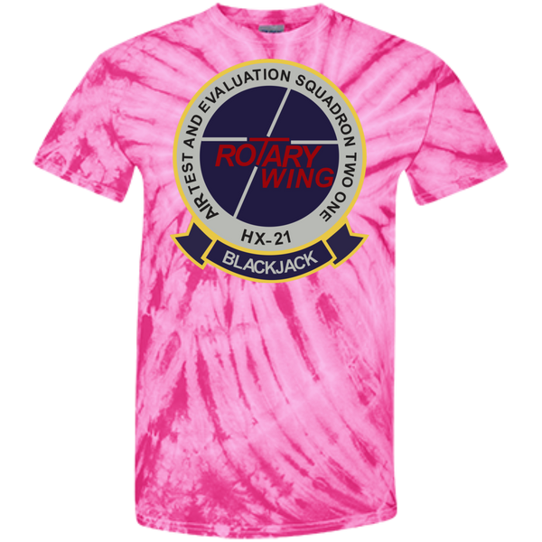 HX 21 Customized 100% Cotton Tie Dye T-Shirt