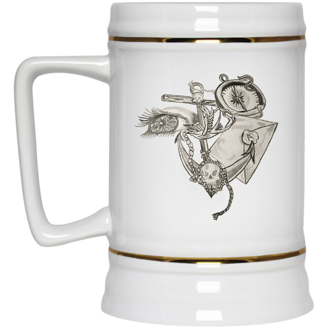 Getting Underway Beer Stein