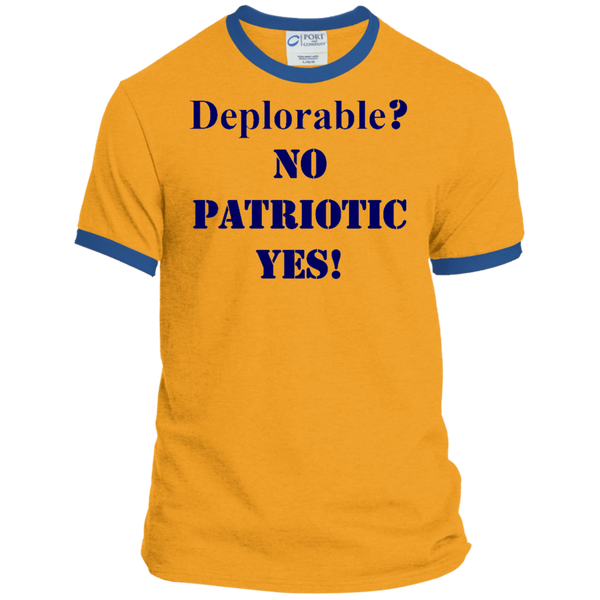Deplorable Personalized Ringer Tee