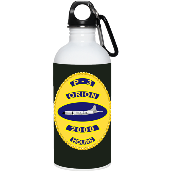 P-3 Orion 10 2000 Stainless Steel Water Bottle