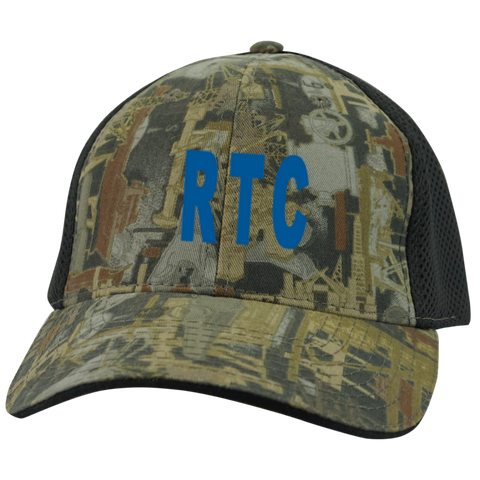 RTC 3 Camo Cap with Mesh