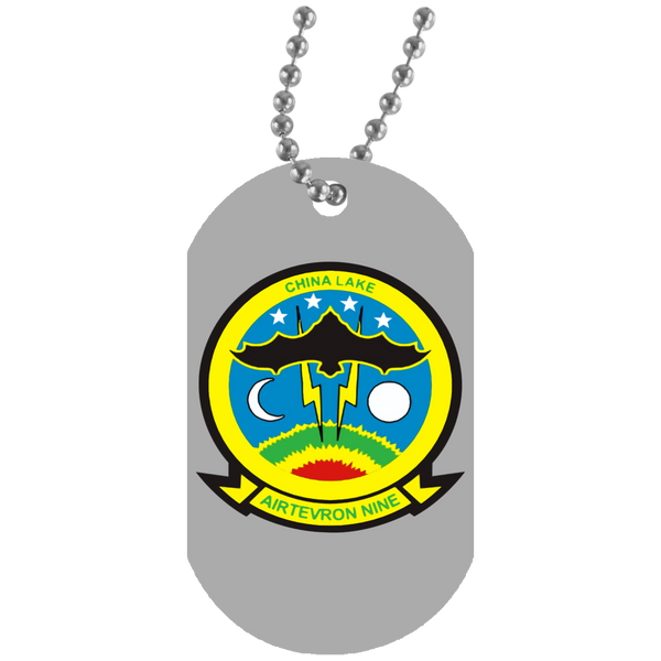 VX 09 White Dog Tag