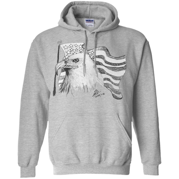 Eagle 101 Pullover Hoodie