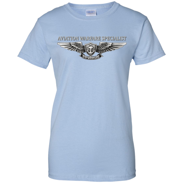 Air Warfare 2 Ladies Custom Cotton T-Shirt