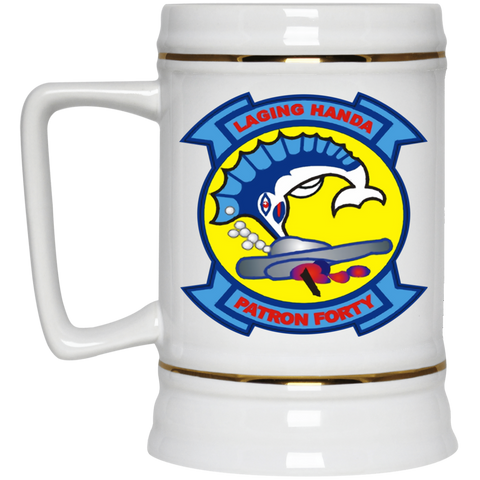 VP 40 1 Beer Stein - 22oz