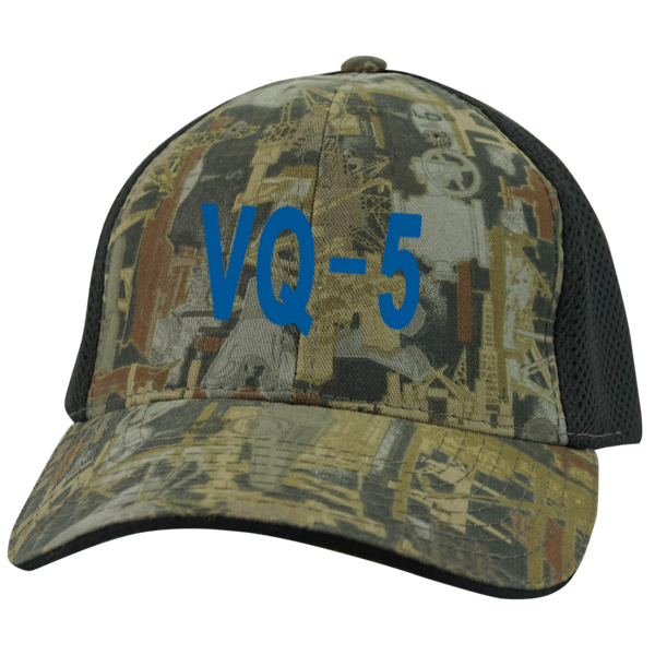 VQ 05 3 Camo Cap with Mesh