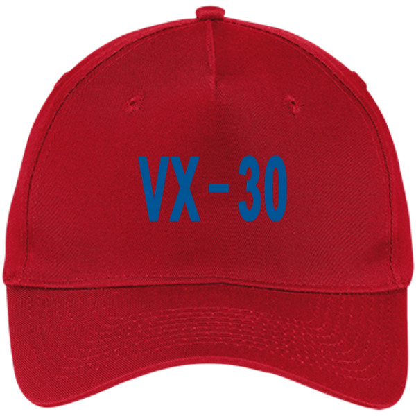 VX 30 3 Five Panel Twill Cap