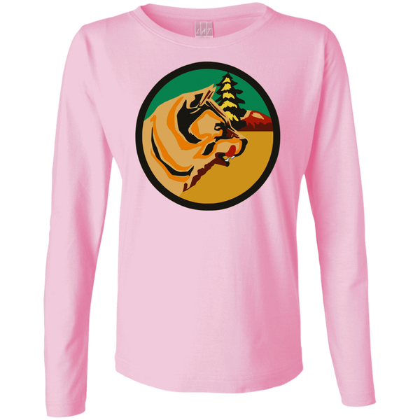 VP 03 Ladies Long Sleeve Cotton TShirt