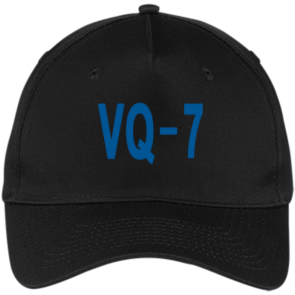 VQ 07 3 Five Panel Twill Cap