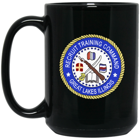RTC Great Lakes 1 Black Mug - 15oz