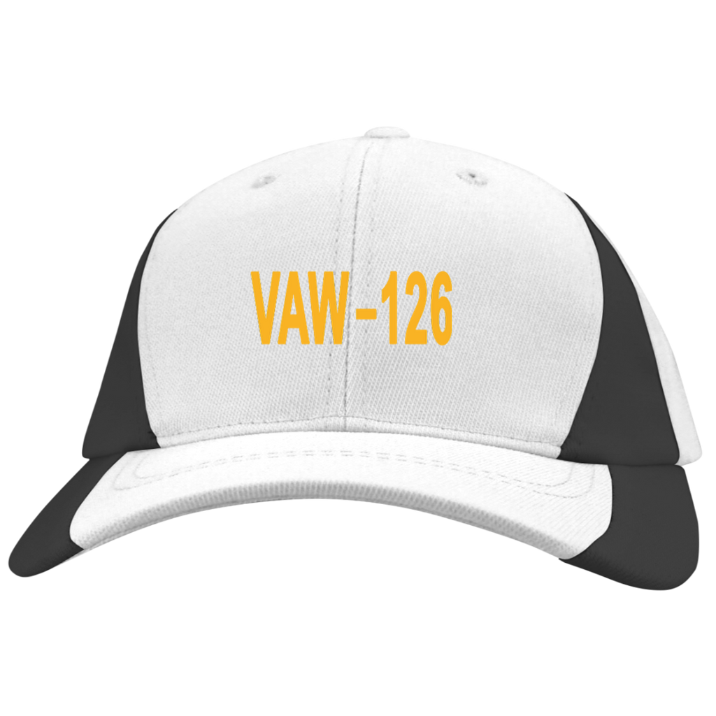 VAW 126 3 Mid-Profile Colorblock Hat
