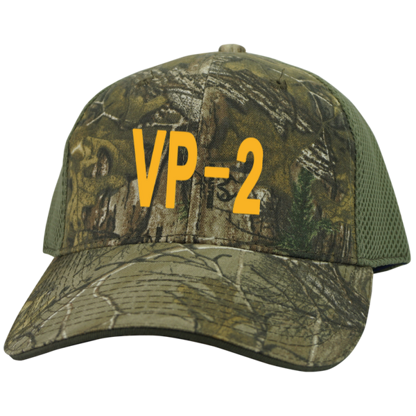VP 02 3 Camo Cap with Mesh