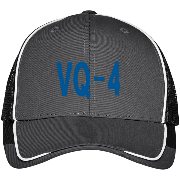 VQ 04 3 Colorblock Mesh Back Cap