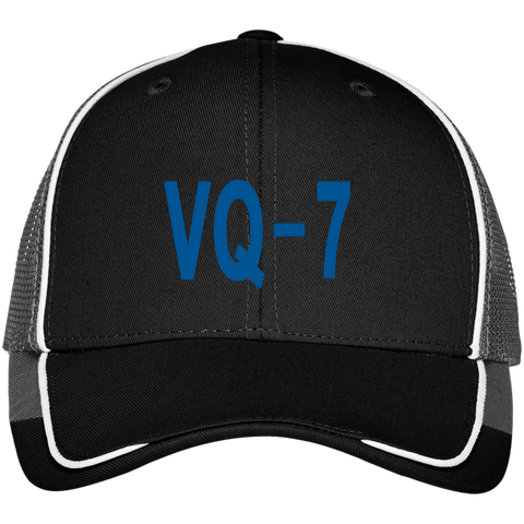VQ 07 3 Colorblock Mesh Back Cap