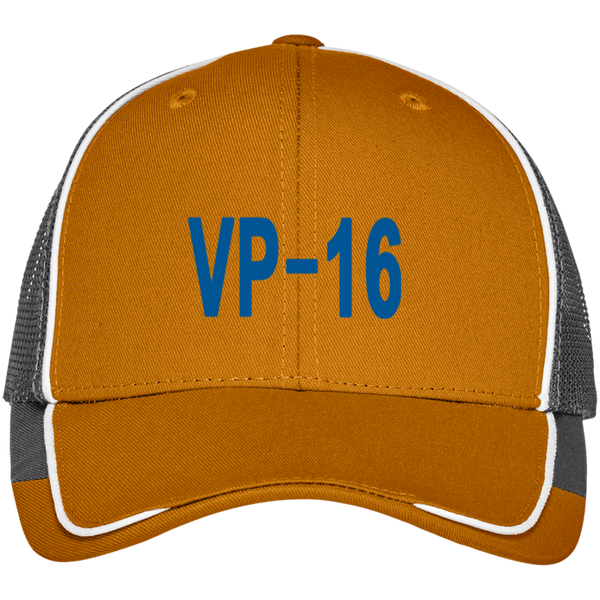 VP 16 3 Colorblock Mesh Back Cap