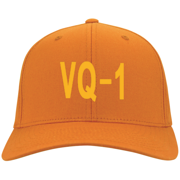 VQ 01 4 Flex Fit Twill Baseball Cap
