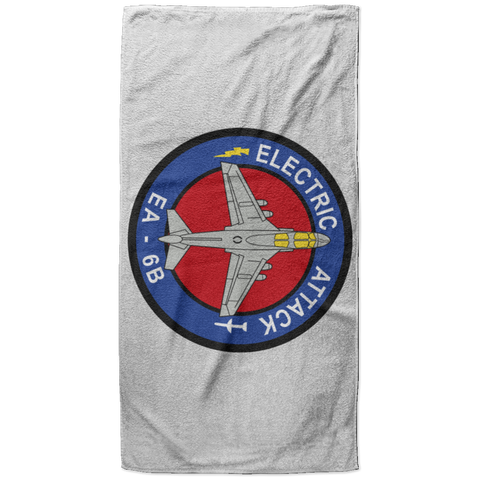 EA-6B 1 Beach Towel - 37x74
