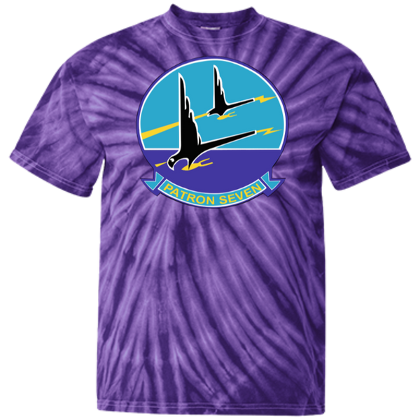 VP 07 1 Customized 100% Cotton Tie Dye T-Shirt