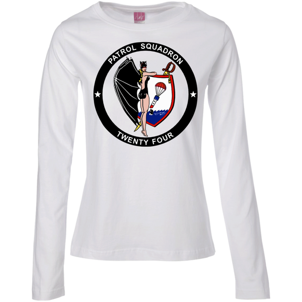 VP 24 2 Ladies Long Sleeve Cotton TShirt