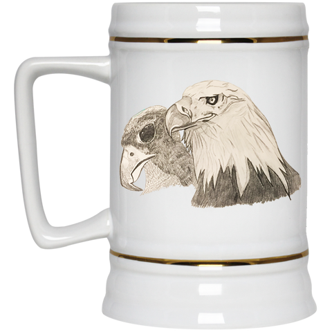 Eagle 102 Beer Stein - 22 oz