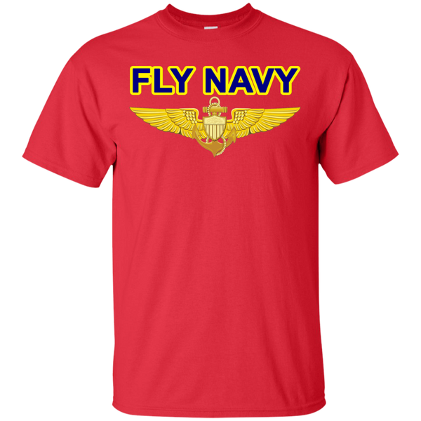Fly Navy Aviator Custom Ultra Cotton T-Shirt